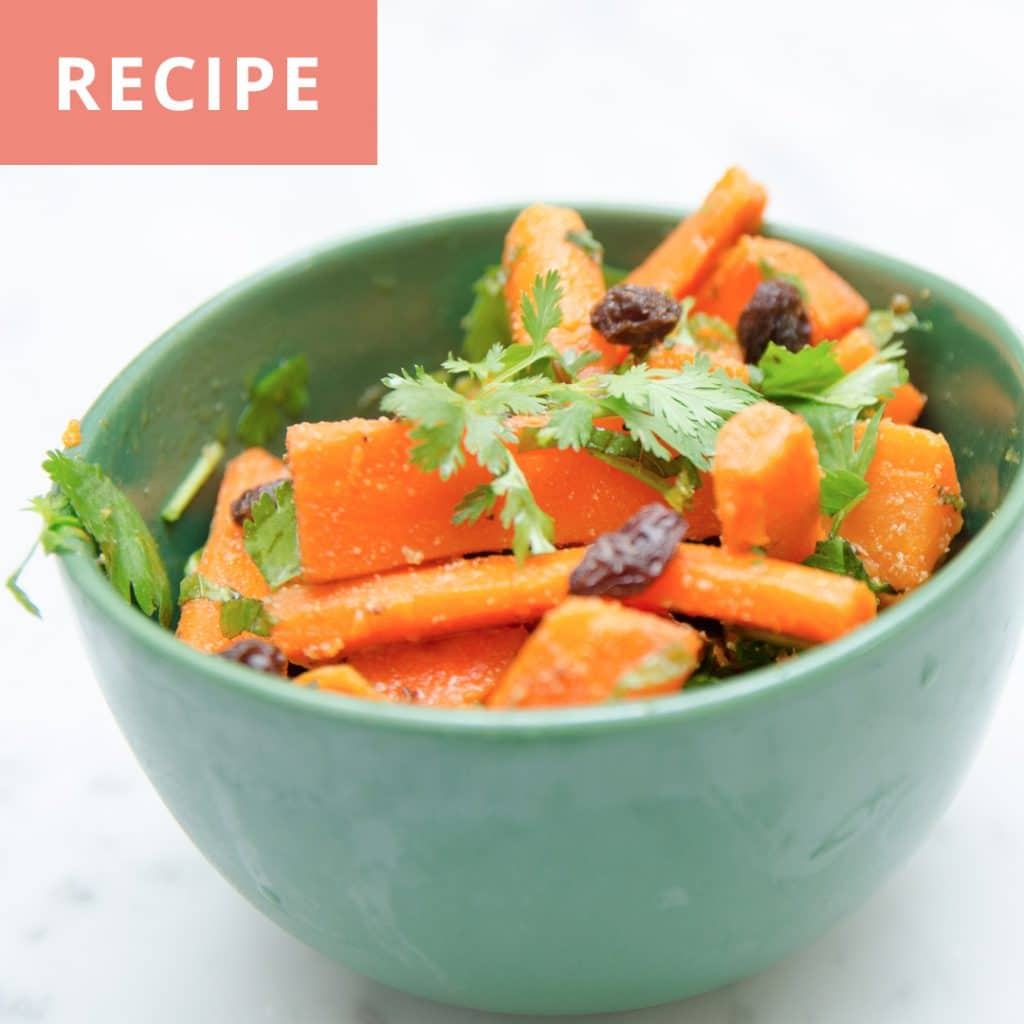 Moroccan-style Carrots