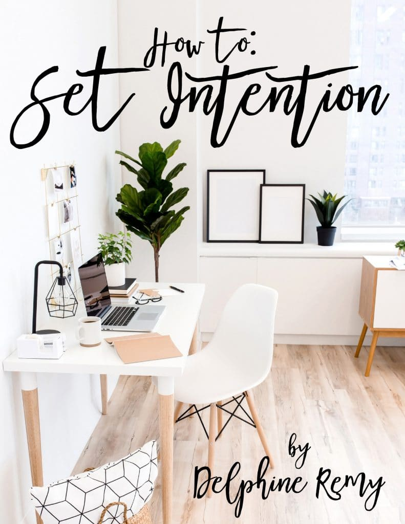 Set Intention E-book